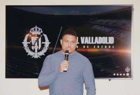 Ronaldo oferece incentivos para elenco do Valladolid permanecer na primeira divisão (Foto: Reprodução)