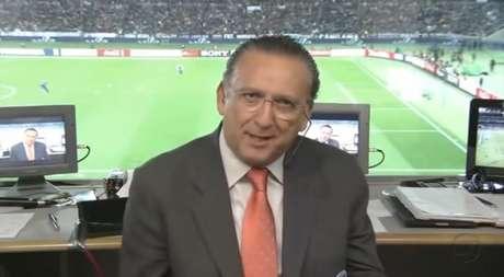 Galvão estará na Copa do Catar, mas não como narrador (Imagem: Reprodução/TV Globo)