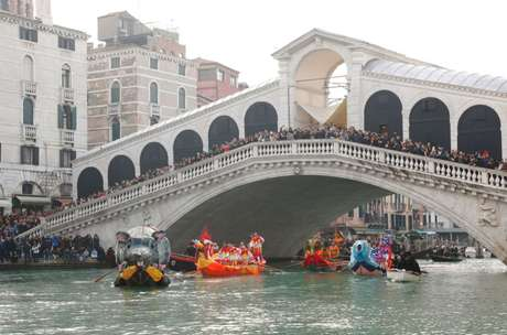 O Grande Canal de Veneza