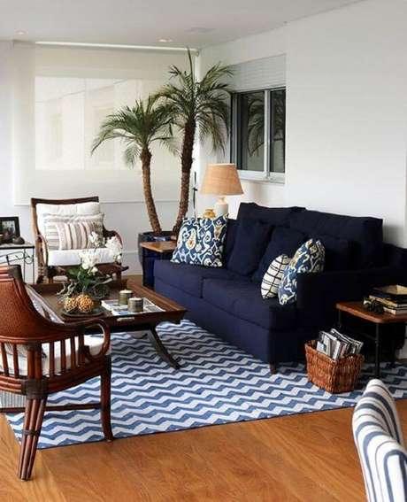 43. As plantas fazem toda a diferença na decoração da casa de praia. Fonte: Decoração de Casa