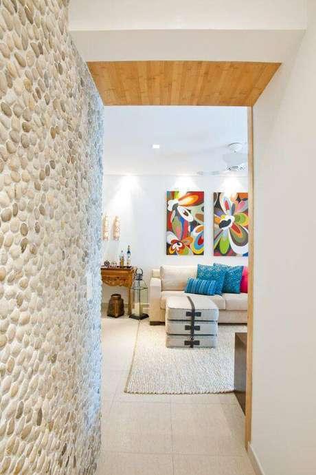 2. O colorido deixa o ambiente com mais energia na casa de praia. Projeto de Pepita e Paulo.