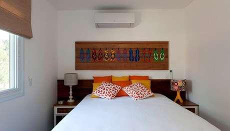 12. Decoração de quarto de casa de praia simples. Fonte: Jeito de Casa