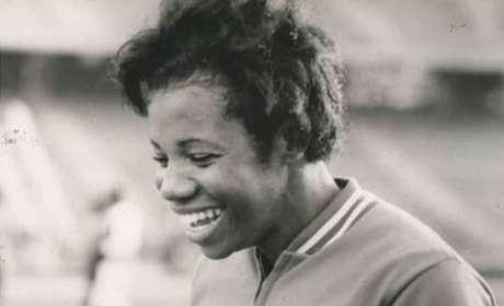 Aída dos Santos competiu em duas edições dos Jogos Olímpicos pelo Brasil (Foto: Divulgação)