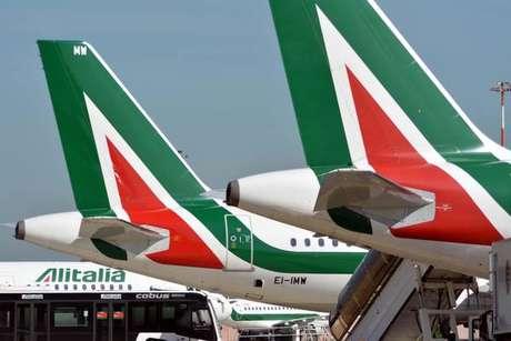 Alitalia está sob intervenção do governo desde maio de 2017