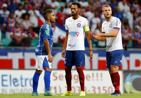 Com o time reserva, o Bahia empatou sem gols com o Doce de Mel, na Fonte Nova (Foto: Divulgação)