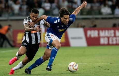 Moreno lutou q2 (Foto: Gustavo Aleixo/Cruzeiro)