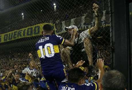 Boca Juniors, campeão do Campeonato Argentino, é um dos classificados à Libertadores de 2021 Foto: Divulgação/Boca Juniors