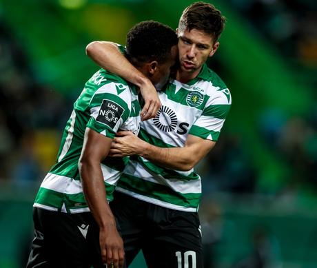 Sporting venceu por 2 a 0 (Foto: Divulgação/Sporting)
