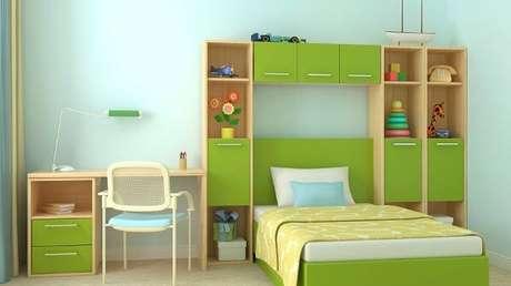 48. Quarto infantil verde e azul – Via: Westwing