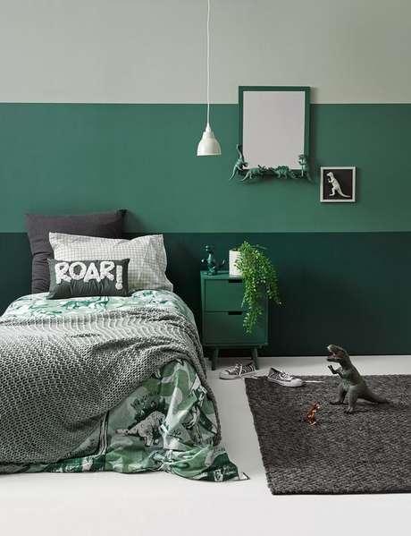 15. Quarto em tons de verde – Via: Home to Love