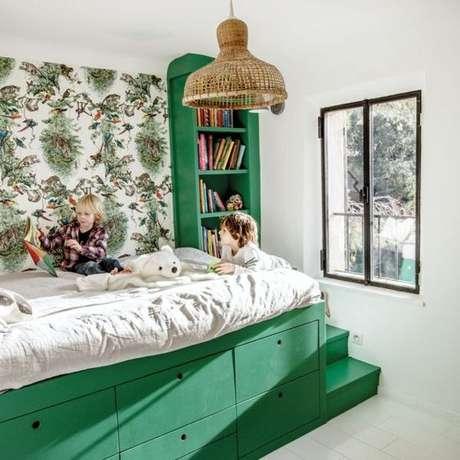 8. Capriche na decoração do quarto infantil, as crianças adoram! – Via: Pinterest