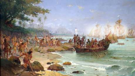 Frota de Cabral tinha nove naus, três caravelas e uma pequena embarcação com mantimentos