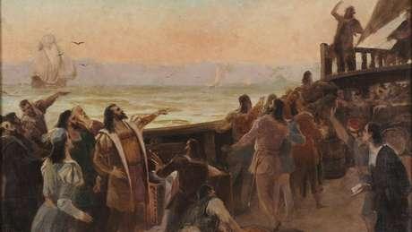 Ao todo, os 13 navios transportavam 1,5 mil homens, entre médicos, boticários, religiosos, calafates e até condenados à morte que aceitavam trocar sua pena pelo exílio