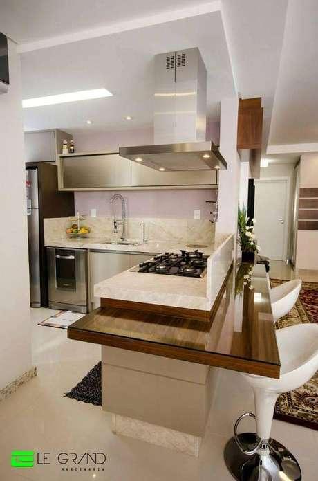 35. As banquetas para cozinha também podem ser utilizadas em cozinhas gourmet