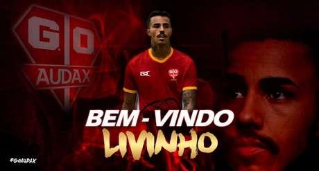 Livinho não será mais jogador do Audax (Foto:Divulgação/Audax)