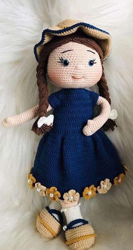 36. Muitas bonecas podem ser feitas com o amigurumi. Foto: World Celebrities