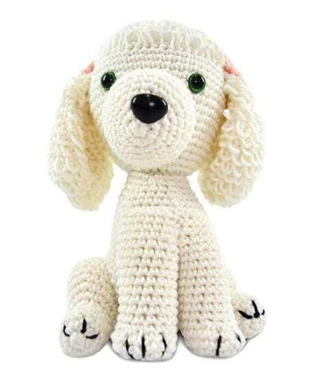 43. Cachorros de amigurumi também são populares. Foto: Ver e Fazer