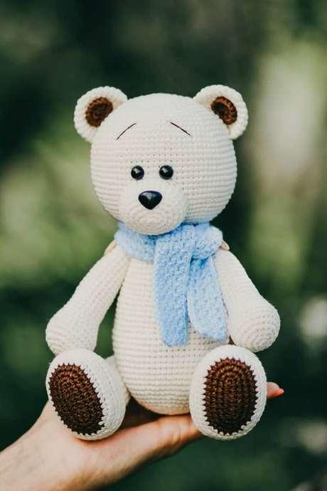 17. O amigurumi é perfeito para decorações infantis. Foto: Amiguroom Toys