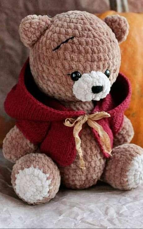 8. Ursos de amigurumi são os modelos mais populares. Foto: Info Portal