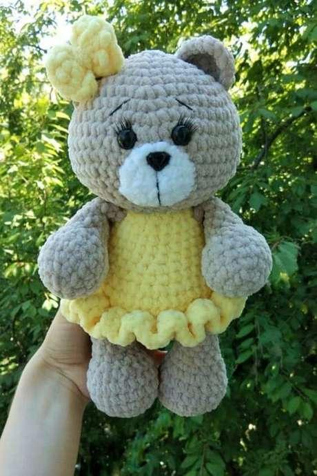 20. Peças grandes podem ser feitas com amigurumi. Foto: Amiguroom Toys
