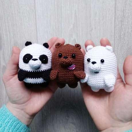 25. Muitos animais podem ser feitos com o amigurumi. Foto: Amimore