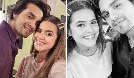 Maisa Silva e Luan Santana.