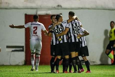 O Atlético de Sampaoli foi envolvente e saiu de campo com os três pontos-(Bruno Cantini/Atlético-MG)