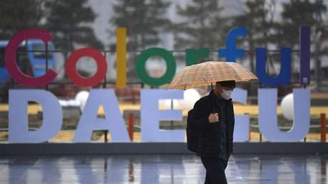 Daegu é a cidade onde o surto começou na Coreia do Sul