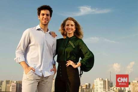 Caio Copolla e Gabriela Prioli protagonizaram debates quentes na CNN
