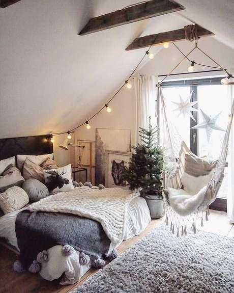 16. O estilo dinamarquês de decoração leva muito conforto para a decoração dos ambientes – Foto: Pinterest