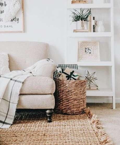 19. O estilo dinamarquês de decoração valoriza tons claros – Foto: Pinterest