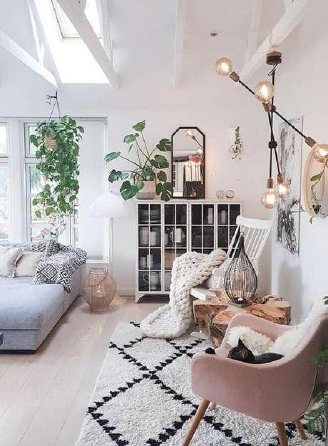 56. Invista em plantas para decorar o seu ambiente com estilo hygge – Foto: Decora em Família