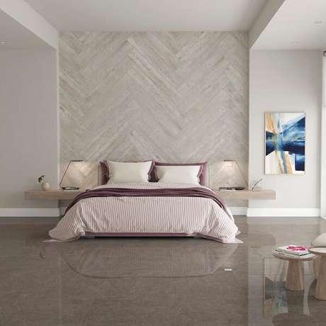 30. Escolha a cor de cerâmica para quarto que mais se adapta a sua decoração. Fonte: Pinterest