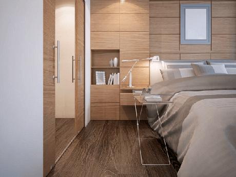 32. Escolha o piso cerâmico para quarto que mais se harmoniza com a sua decoração. Fonte: Lef Cerâmica