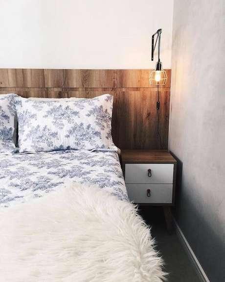 60. A madeira faz parte da decoração com estilo hygge – Foto: Apartamento84
