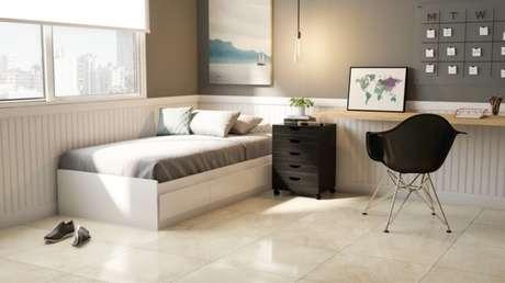 29. Modelo de cerâmica para quarto de solteiro. Fonte: Pinterest