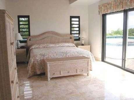 41. Modelo de piso cerâmico para quarto. Fonte: Pinterest