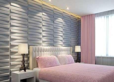 57. Traga alegria para o cômodo incluindo uma cor de cerâmica para quarto diferente. Fonte: Pinterest