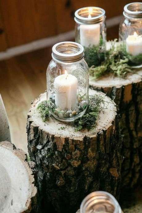 49. Utilize velas aromatizadas para decorar e perfumar ambientes com decoração hygge – Foto: Therapy Box
