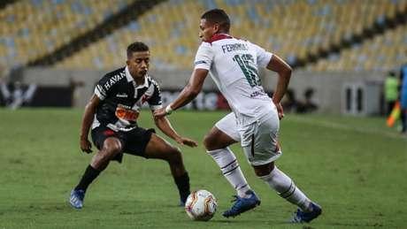 Prejuízo foi apenas na questão financeira, já que o Tricolor venceu por 2 a 0 (Foto: Lucas Merçon/Fluminense)