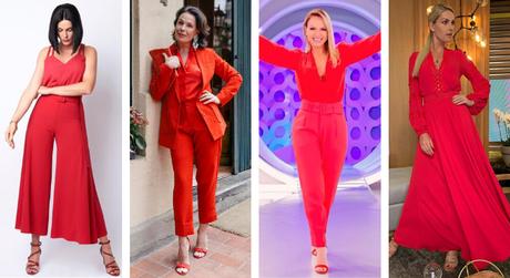 Famosas vestem vermelho (Fotos: Instagram/Reprodução)