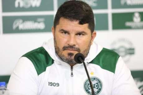 Eduardo Barroca está no Coritiba atualmente (Foto: Divulgação/Coritiba)