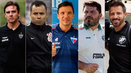 Larghi, Jair Ventura, Zé Ricardo, Barroca e Ramon Menezes são algumas das opções do Vasco (Foto: Divulgação)