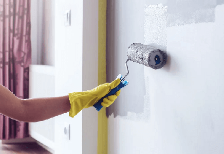 8. Também é possível pintar uma parede já pintada – Foto: Ipacor tintas