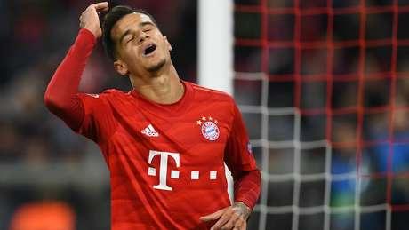 Philippe Coutinho está emprestado ao Bayern de Munique