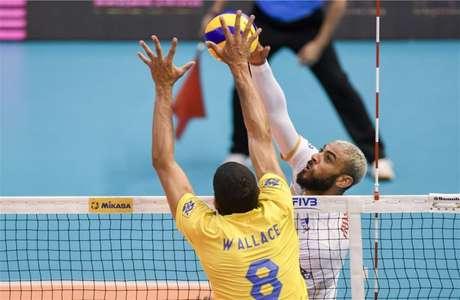 Ngapeth defende a seleção francesa (FIVB Divulgação)