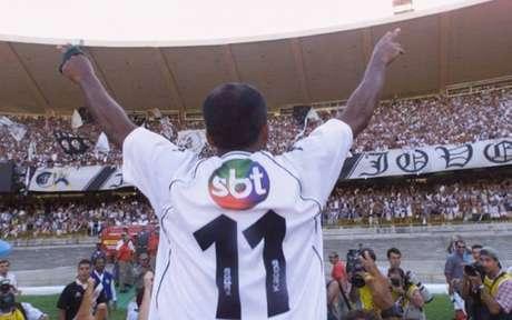 Romário marcou um dos gols da vitória do Vasc na final da Copa João Havelange (Foto: Divulgação)