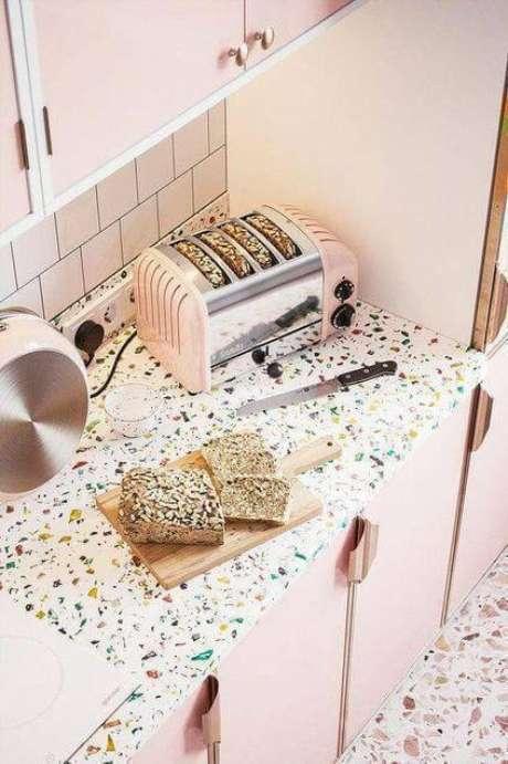 27. Cozinha decorada com granilite – Via: Pinterest