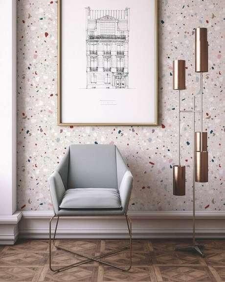 29. Granilite colorido na parede – Via: Pinterest