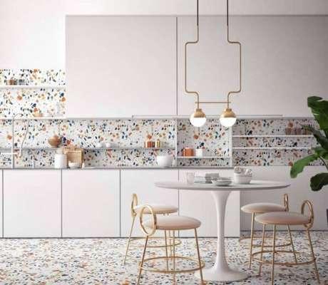 42. Cozinha com granilite – Via: Pinterset